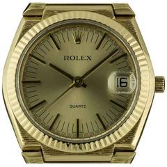 Rolex Bark Finish Texan Beta 21 Gold 5100