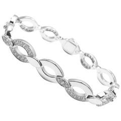 Cartier Diadea Diamond White Gold Link Bracelet