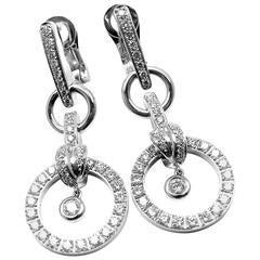 Piaget Diamond Drop White Gold Earrings