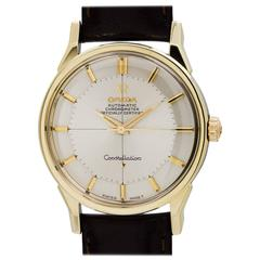 Omega Yellow Gold Constellation Wristwatch Model 167.005, circa 1967