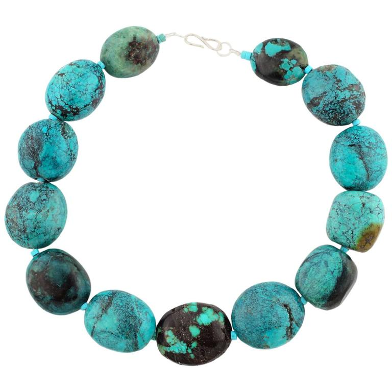 Natural Beautiful Chinese Turquoise Necklace