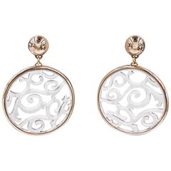 Mattioli Rose Gold Galatite Siriana Earrings