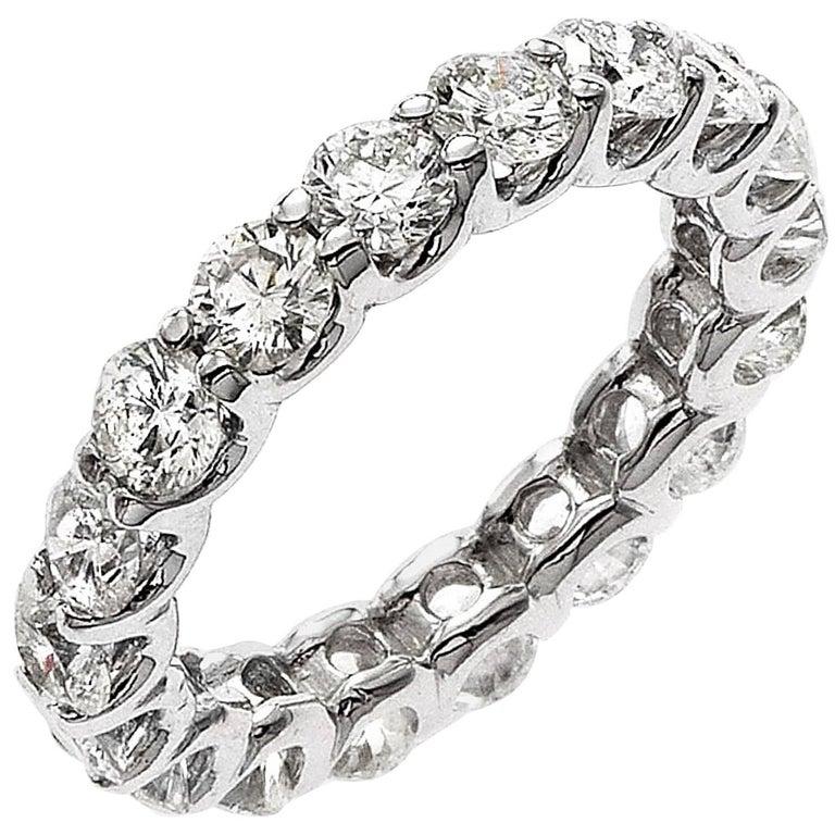 .32 Carat Each Diamond U Prong Eternity Band