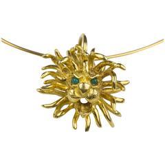 Cartier Gold Pendant Necklace