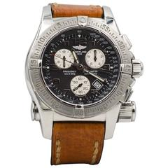Breitling Stainless Steel Emergency Quartz Wristwatch