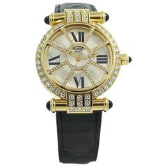 Chopard Yellow Gold Diamond Imperiale Wristwatch  Ref 373414