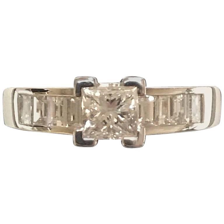 Wegelin Freres Diamonds White Gold Engagement Ring