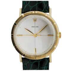Rolex Yellow Gold Manual Wind Dress Wristwatch Model 8469, circa 1960s