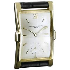 Vacheron & Constantin Yellow Gold Manual Wristwatch, 1953