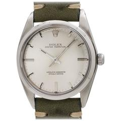 Rolex Stainless Steel Oyster Perpetual Wristwatch Model 1018, circa 1965