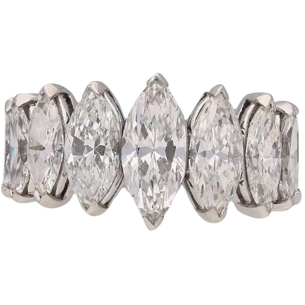 Oscar Heyman Bros. Marquise Diamond Ring