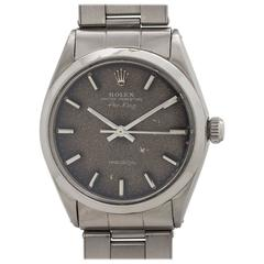 Rolex stainless steel Oyster Perpetual Airking Tropical Dial Wristwatch, c1968