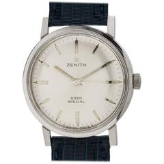 Zenith stainless steel 2360 Special manual wind Wristwatch, circa 1960s