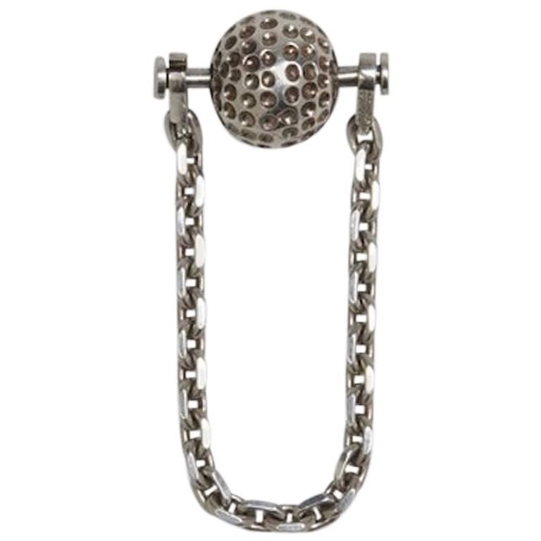 Hermès Golf Ball Key Chain