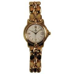 Bertolucci Yellow Gold Date Bracelet Wristwatch Brand New, Never Worn