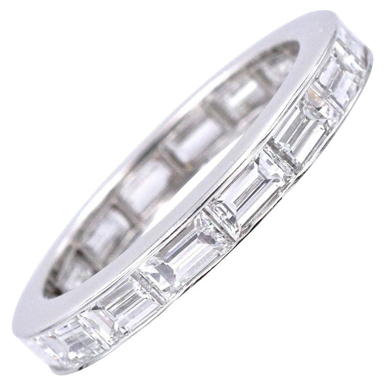 Harry Winston Diamond Eternity Band For Sale
