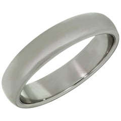 Tiffany & Co. Classic Platinum Wedding Band Ring