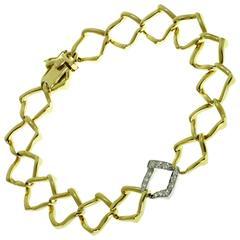 Platinum Link Bracelets