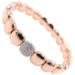 Diamond Rose Gold Bracelet