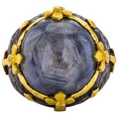 Victor Velyan Star Sapphire Ring