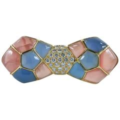 Van Cleef & Arpels Bow Brooch in 18 Karat