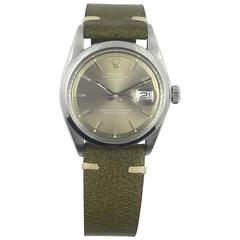 Rolex Stainless Steel Oyster Perpetual Datejust Wristwatch, circa 1960s
