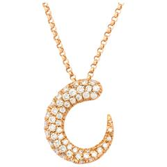 Faraone Mennella Gocce Necklace with Diamonds