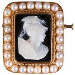 Cameo on Agate Featuring Perseus, 19th Century