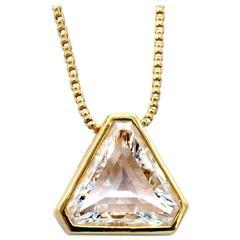 Diamond Gold Pendant Necklace
