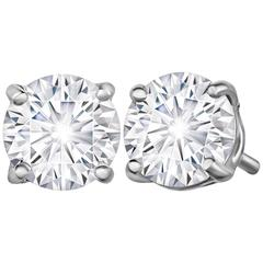 Marisa Perry 72 Point Forevermark Diamond Studs in Platinum