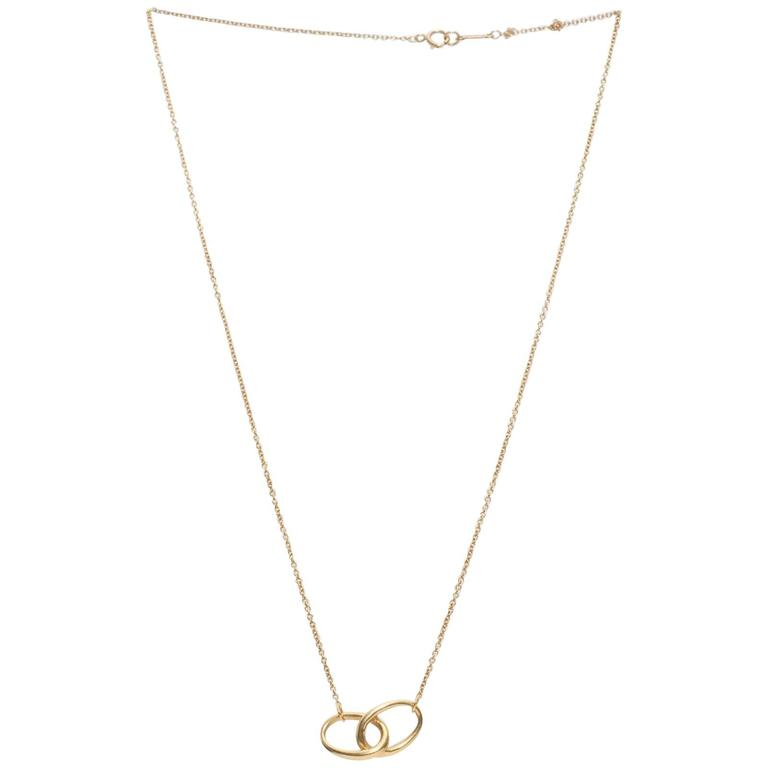 Tiffany & Co. Elsa Peretti Gold Necklace
