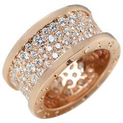 Bulgari Rose Gold 2.30 carat Diamond B.Zero1 Ring