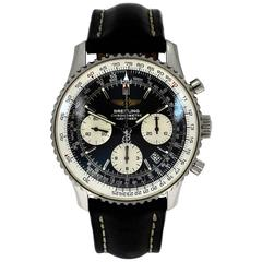 Breitling Stainless Steel Navitimer Automatic Wristwatch Ref A23322