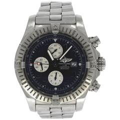 Breitling Stainless Steel Super Avenger Wristwatch Ref  A1337011