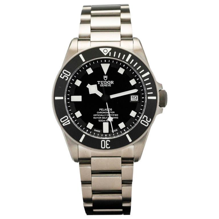 Tudor pelagos titanium dive automatic wristwatch ref - Tudor dive watch price ...