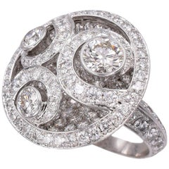 Graff, Diamond on Diamond Ring