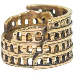 Zara Simon Gold Roma Ring