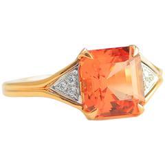 Frederic Sage Precious Topaz Diamond Cocktail Ring