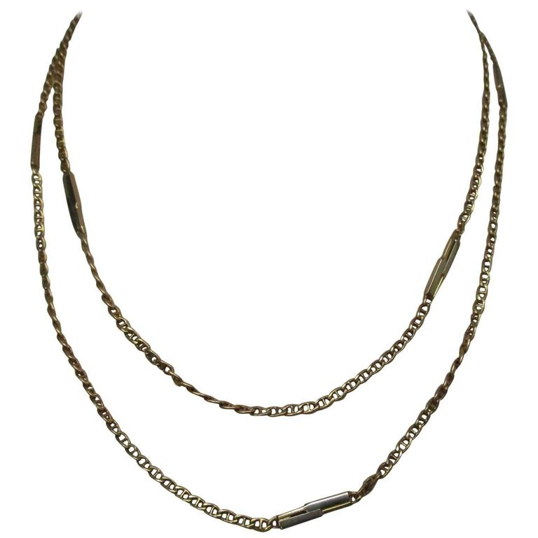 fred myers jewelry fred gold link chain for sale at 1stdibs 5603