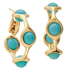 Cassandra Goad Persephone Turquoise Gold Earrings