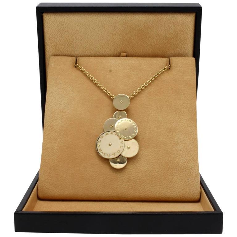 Gold Bulgari Necklace