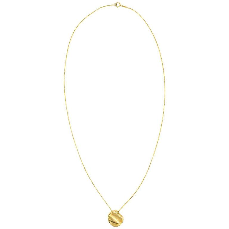 Elsa Peretti for Tiffany & Co. Abstract Pendant Necklace