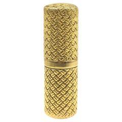 Van Cleef & Arpels Yellow Gold Perfume Bottle, 1950s