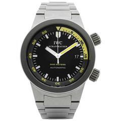 IWC Titanium Aquatimer 2000 Meters Automatic Wristwatch