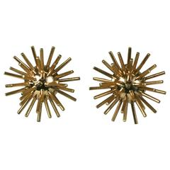 Cartier Gold Sputnik Earrings
