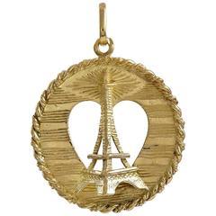 Cartier Paris Gold Eiffel Tower Charm