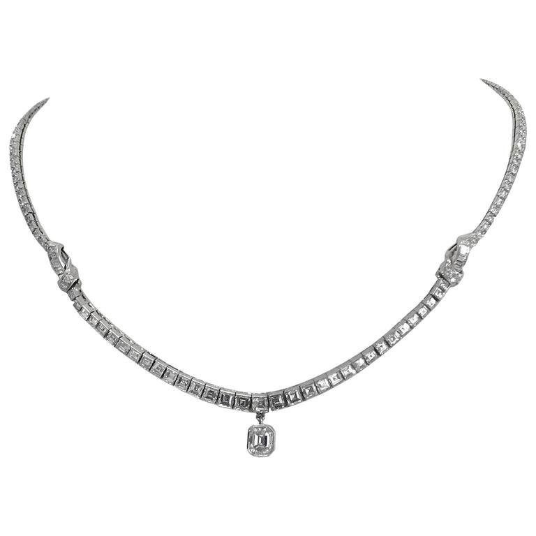 Stunning Oscar Heyman  Diamond Necklace 2