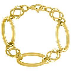 Golden Clef International Italy Gold Link Bracelet