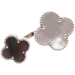 Van Cleef & Arpels Magic Alhambra Between Finger Mother-of-Pearl White Gold Ring