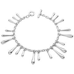 Lucy Quartermaine Sterling Silver Multi Drip Bracelet